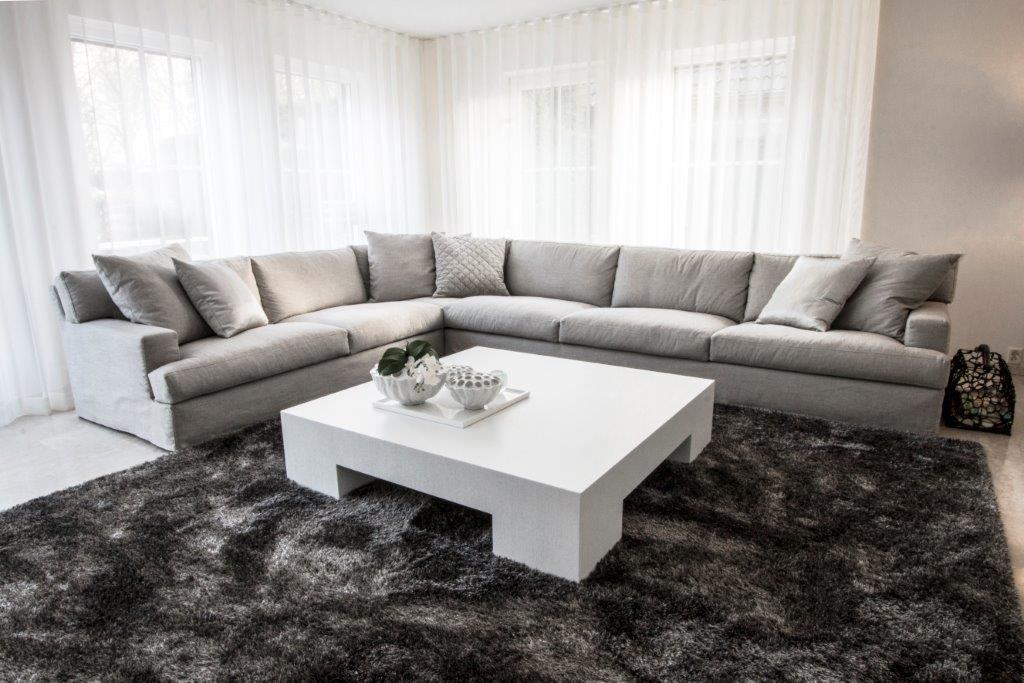 Woonkamer interieur project in arnhem modern en minimalistisch